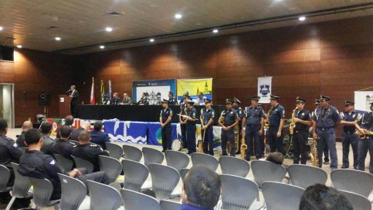 Belém estar sediando o 25º Congresso Nacional das Guardas Municipais