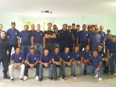 Curso de Capacitação para Guardas Municipais de Água Branca