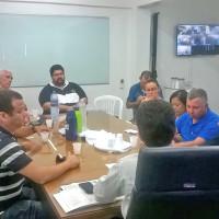 Reunião para negociação salarial 2016