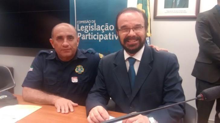 Sindguarda-Alagoas na luta pela aprovação da PEC/534 e mudança Na  Lei do Estatuto do Desarmamento.