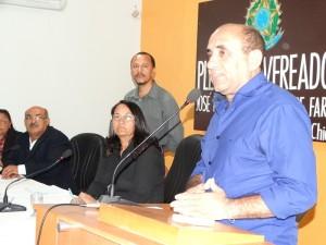 """Carlos """"Pisca"""", presidente do Sindguarda Alagoas"""