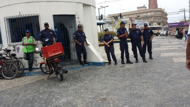 Guardas Municipais são acionados para conter tumulto no centro