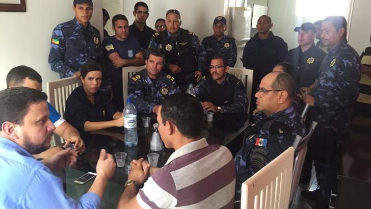 Guardas Municipais do Pilar solicitam apoio do presidente da câmara na aprovação de projeto