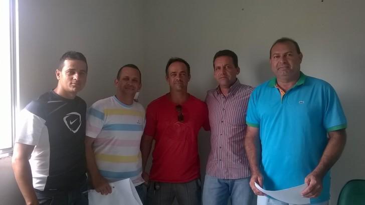 SINDGUARDA-AL se reúne com GMs e com representes de Santana do Mundaú
