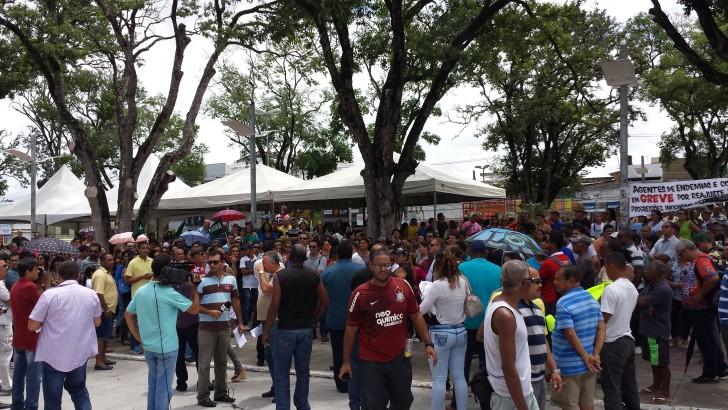 Prefeitura de Maceió mantem 3 % e greve continua até o dia 13 de abril
