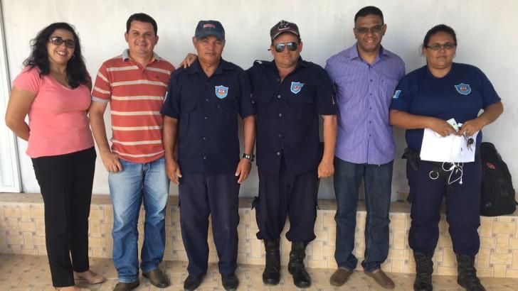 SINDGUARDA – AL visita cidades de Carneiros e Olivença no interior de Alagoas