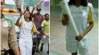 Guardas Municipais de Alagoas conduzem tocha Olímpica