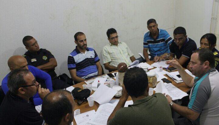 Comissão de Elaboração do PCC se reúne na sede do SINDGUARDA – AL