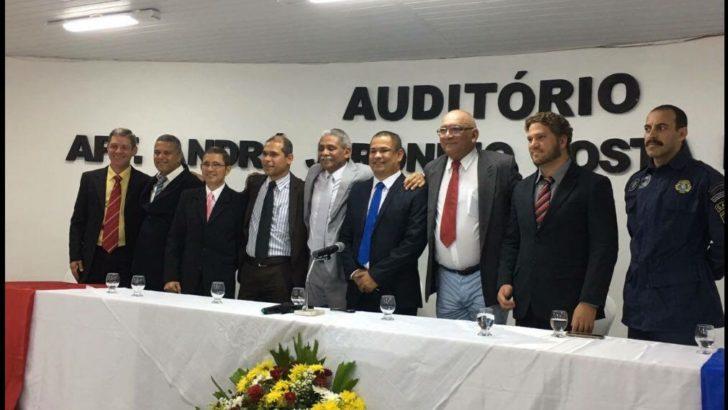 SINDGUARDA – AL participa de solenidade de posse da nova Diretoria Executiva e Conselho Fiscal do SINPOFAL
