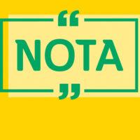 NOTA DE APOIO À OPERAÇÃO PADRÃO DOS AGENTES DA SMTT