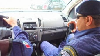 Em parceria com a polícia, Guarda Civil de Girau do Ponciano reforça segurança no município