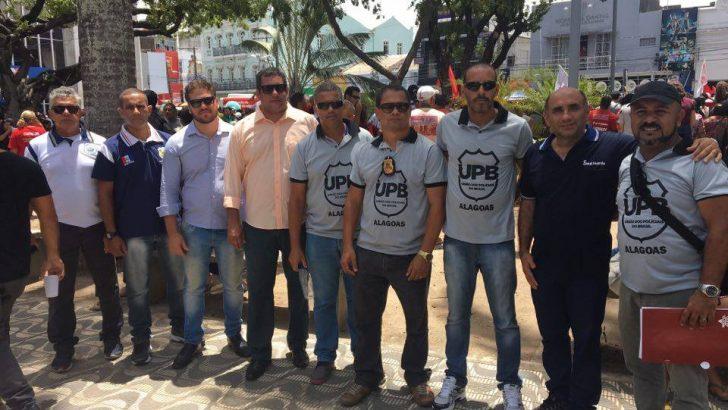 SINDGUARDA-AL PROTESTAM CONTRA REFORMA DA PREVIDÊNCIA SOCIAL