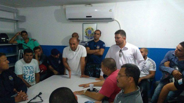 SINDGUARDA-AL se reúne com representante da prefeitura de Delmiro Gouveia