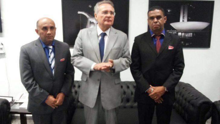 Sindguarda-AL se reúne com Senador Renan Calheiros
