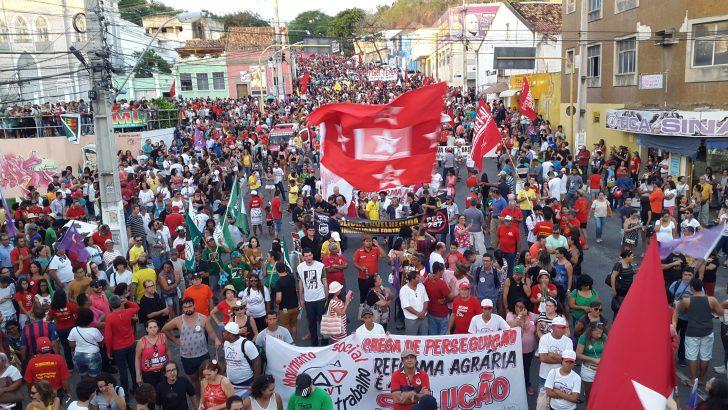 Guardas Municipais de Alagoas participam de manifestações em Maceió