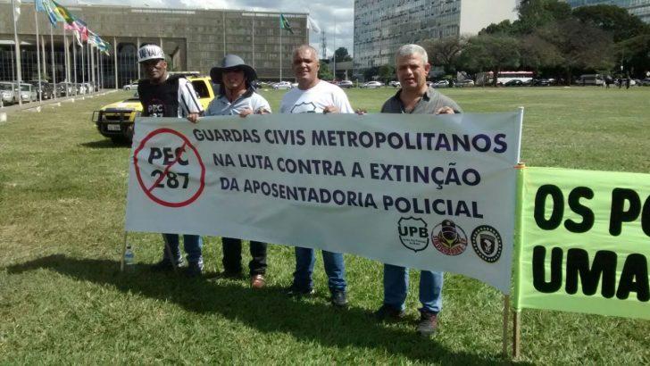 SINDGUARDA – AL participa de manifestações em Brasilia