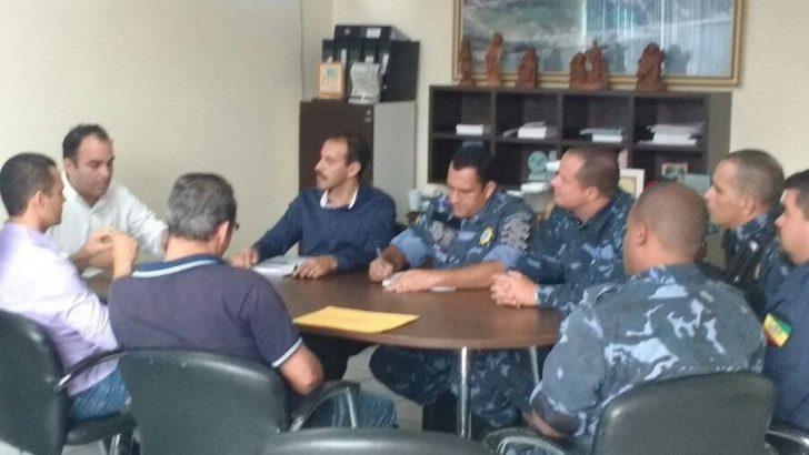 Reunião discute melhorias da Guarda Municipal de Pilar