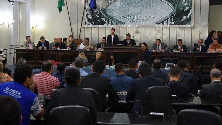 Sindguarda participa de audiência sobre segurança pública em Alagoas