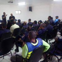 Guardas municipais de Maceió realizam aquartelamento