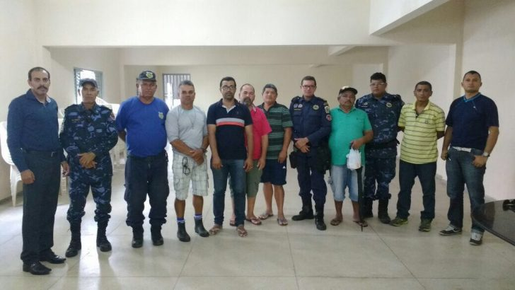 Sindguarda se reúne com Guardas Municipais de São José da Laje