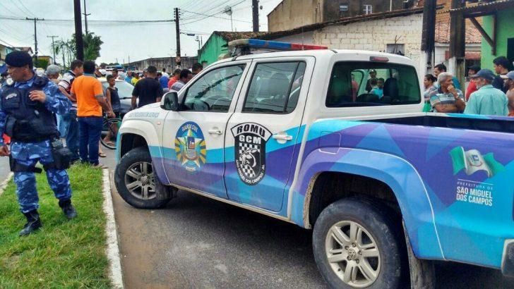 Guarda Municipal de São Miguel dos Campos é acionada após colisão