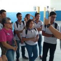 Estudantes visitam base da Guarda Municipal de Maceió