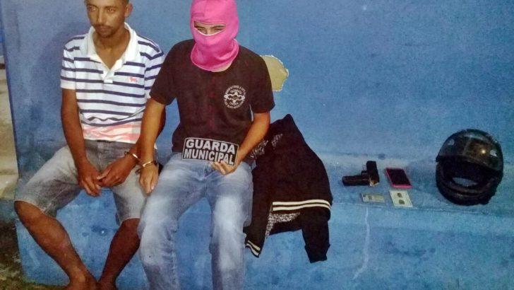 Jovens são presos por Guardas Municipais de Campo Alegre