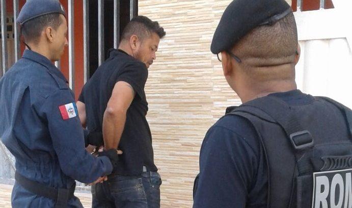 Romu prende homem que tentou matar a ex-mulher em São Miguel dos Campos