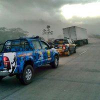 Guarda Municipal é acionada após grave acidente na BR 101