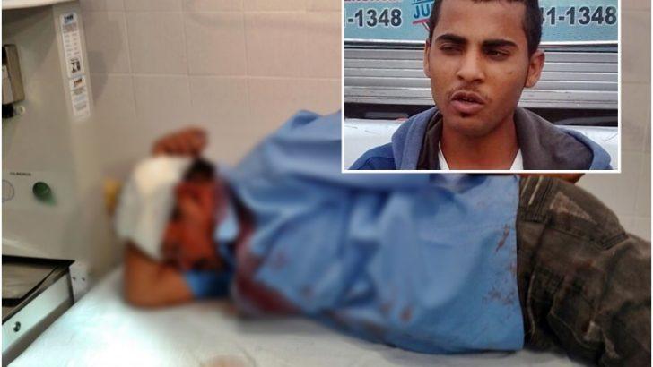 Jovem acusado de tentar matar o pai a pauladas é preso pela Guarda Municipal