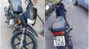 Após perseguição, moto é resgatada pela Guarda Municipal