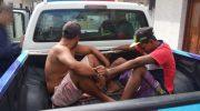 Dupla é detida por danificar patrimônio público municipal