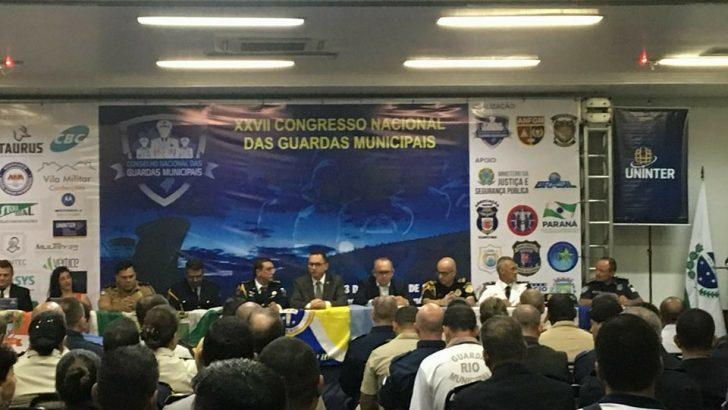 Confira fotos da abertura do XXVII Congresso Nacional das Guardas Municipais