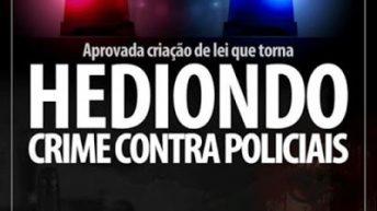 Assassinato de agente de segurança pública pode virar crime hediondo