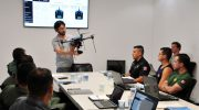 GCM começam treinamento para uso de drones no policiamento da cidade