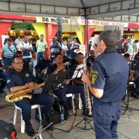Banda da Guarda comemora primeiro ano após reativação