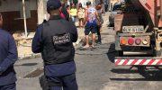 GM dá apoio durante princípio de incêndio em loja de São Miguel dos Campos