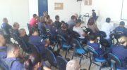 Guardas Municipais participam de palestra sobre Sistema Integrado de Segurança Municipal