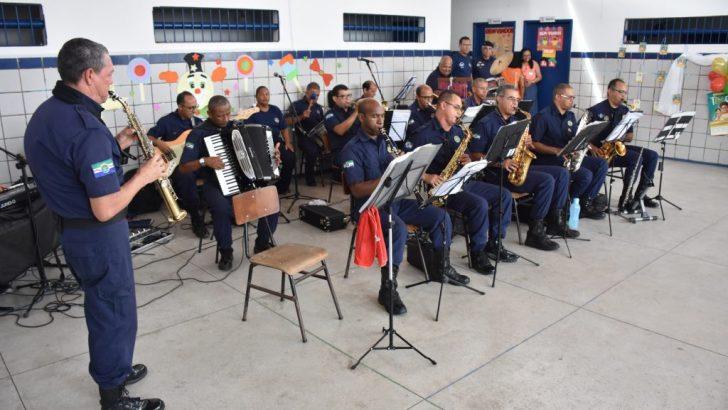 Banda da Guarda Municipal se apresentará na 4ª edição do Projeto Praia Acessível