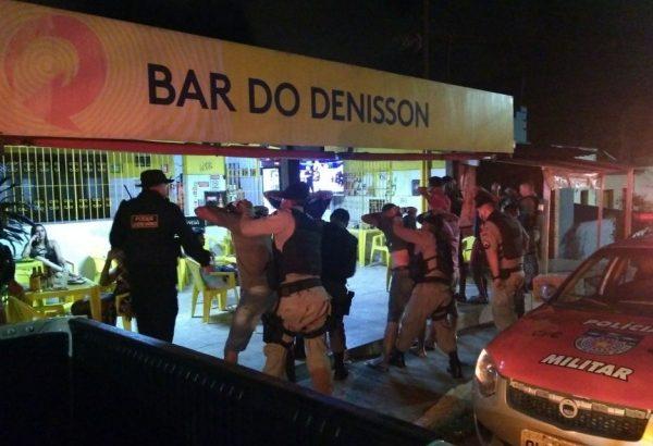 GM participa de Operação Convívio Seguro e fecha bares em Bebedouro