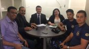 Sindguarda se reúne com Procuradoria de Santana do Mundaú