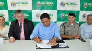 Júlio Cezar dá posse a 30 agentes da Guarda Municipal de Palmeira
