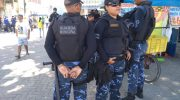 Guardas participam de reordenamento no Centro de Maceió