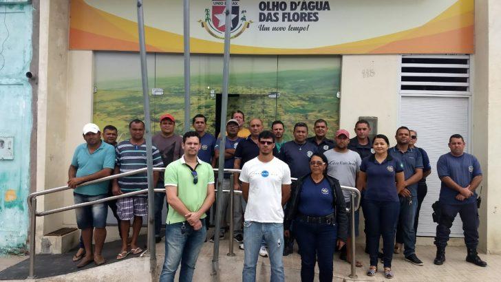 Sindguarda promove ato em Olho d'Água das Flores para cobrar Plano de Cargos e Carreira