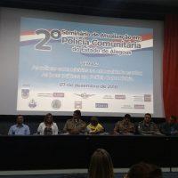 Sindguarda participa do II Seminário Alagoano de Atualização de Polícia Comunitária