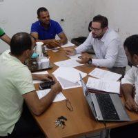 Ajustes: Reunião discute alteração no projeto do Plano de Cargos e Carreiras da GM de Olho D'água das Flores