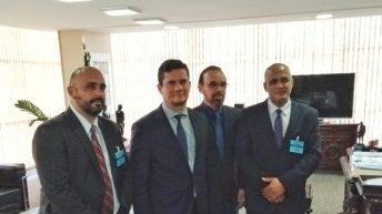 FENAGUARDAS SE REUNE COM MINISTRO SÉRGIO MORO