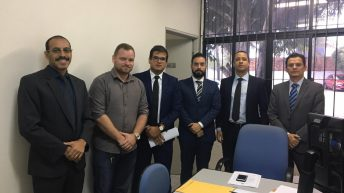 Sindguarda participa de audiência que define data de pagamento aos GM's de Atalaia