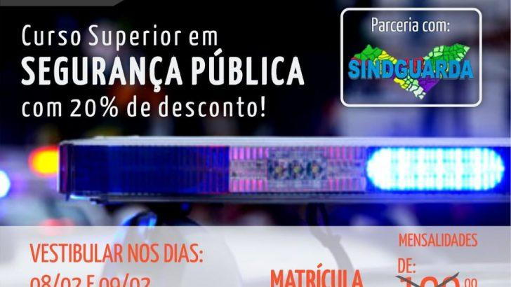 Sindguarda firma parceria com Universidade Anhanguera
