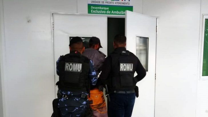 ROMU de São Miguel dos Campos detém homem com problemas mentais por ameaçar a própria mãe